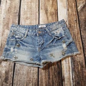 L xi mi lan shorts size 25